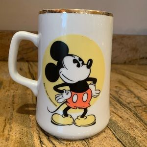 Mickey Mouse Disney Japan Vintage Mug